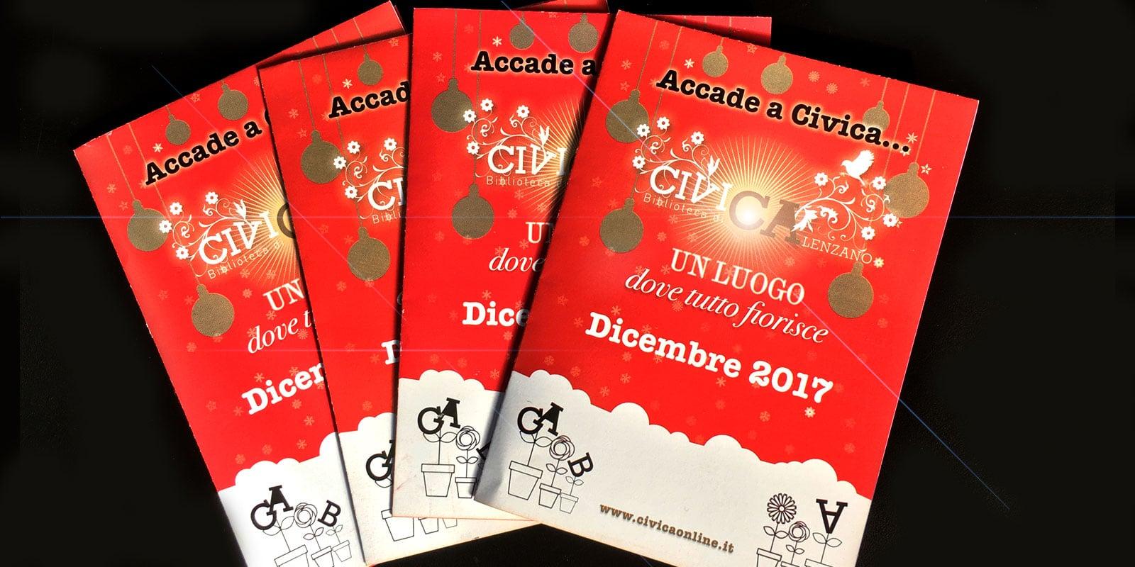 CiviCa: il programma di dicembre 2017