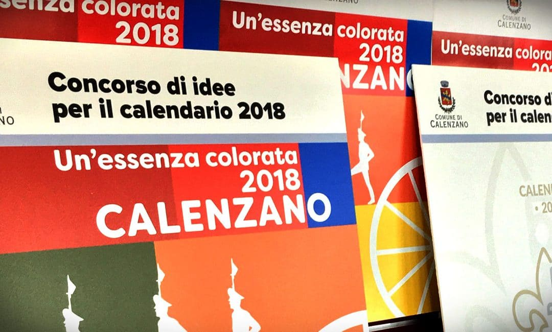 "Calendario 2018 ""Un'essenza colorata"""
