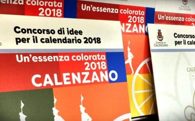 """Calendario 2018 """"Un'essenza colorata"""""""