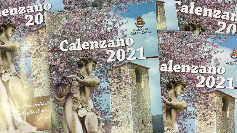 Calendario 2021 del Comune di Calenzano